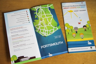 Portsmouth City Museums Events leaflet