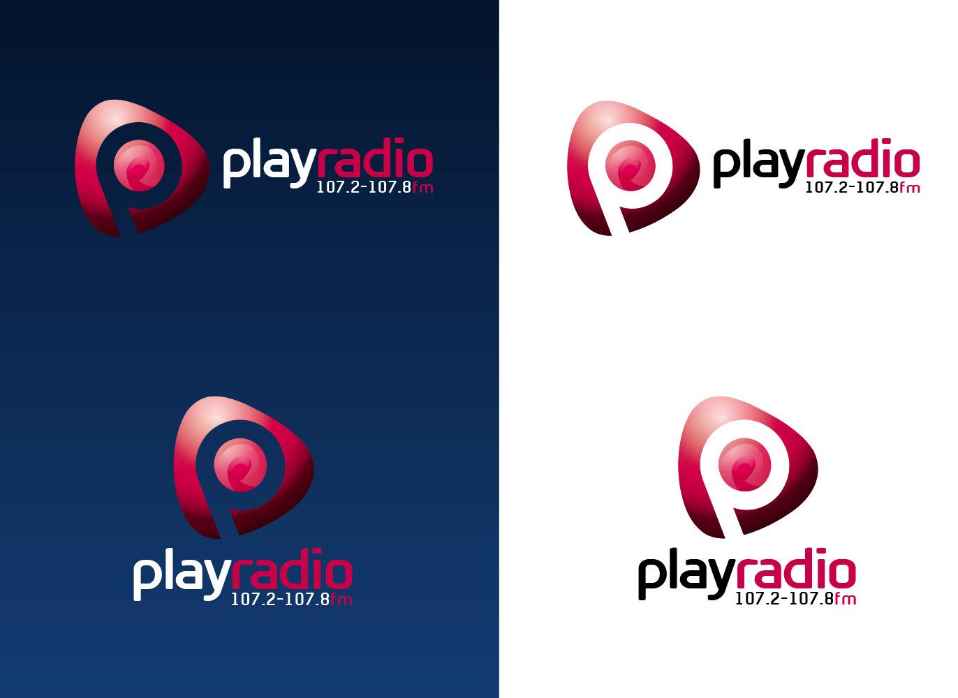 Radio Logo Play radio logo design