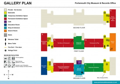 Portsmouth museum floorplan